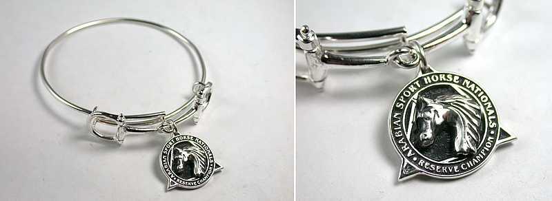 Snaffle Adjustable Bracelet